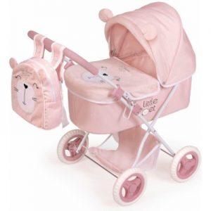 Skladací kočík pre bábiky s batôžkom Little Pet 2020