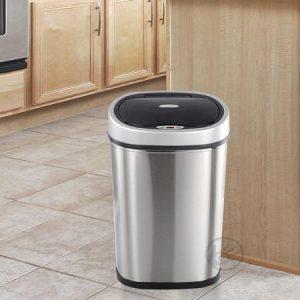 bezdotykový odpadkový koš