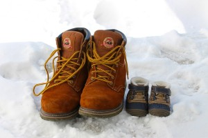 Zimné boty na sneh